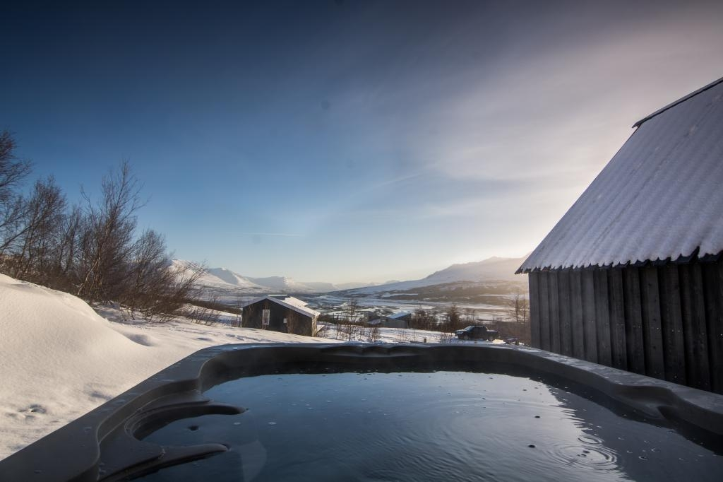 Jacuzzi in Akureyri, North Iceland