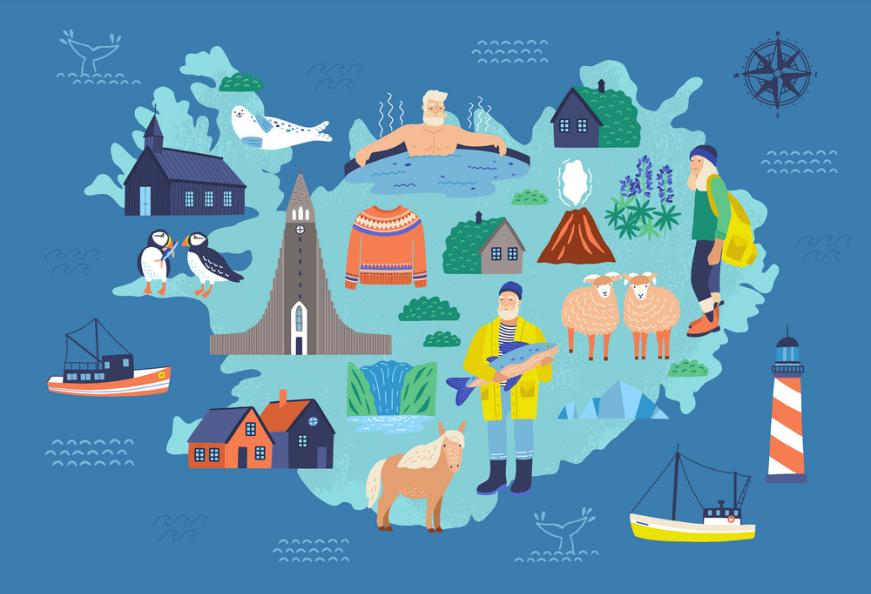 Iceland regions