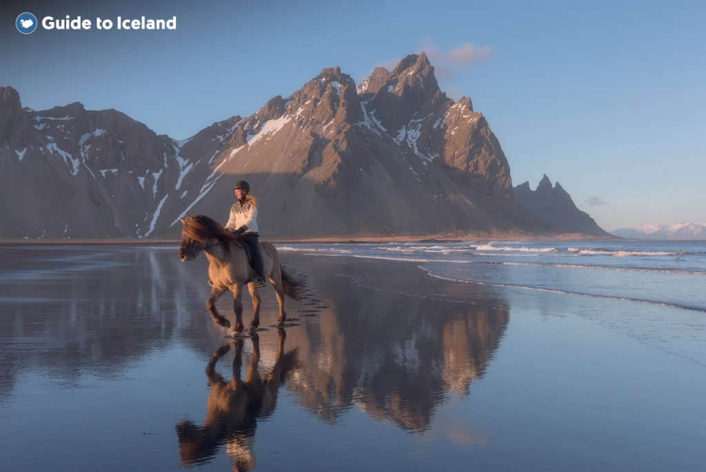 The mighty Vestrahorn Mountain.