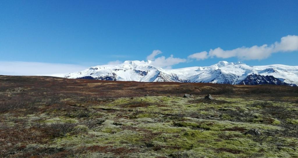 Öræfajökull volcano in Iceland.