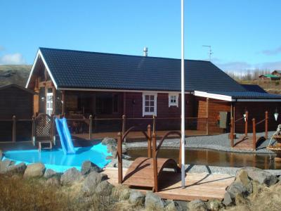 Glæsibær Luxury Cottage with hot tub